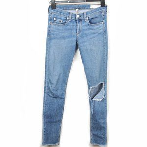 Rag & Bone distressed skinny jeans - Midland Colour
